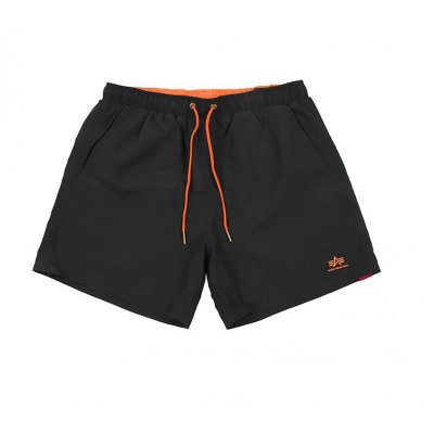 Alpha Industries Basic Swim Short black