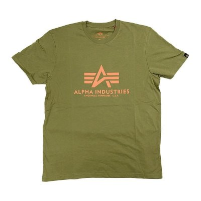 Alpha Industries Basic T-Shirt khaki green