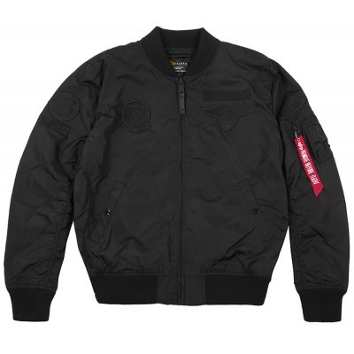 Alpha Industries Bomberjacke MA-1 TT Patch SF all black