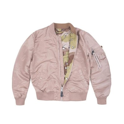 Alpha Industries Bomberjacke MA-1 VF LW Reversible mauve