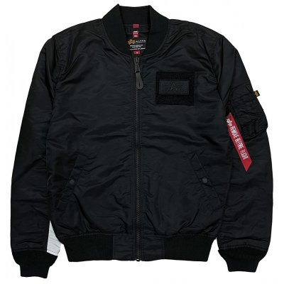 Alpha Industries Herren Bomberjacke MA-1 TT Custom black