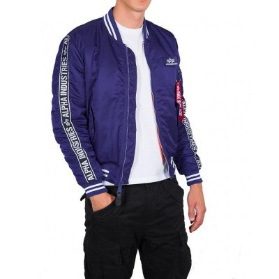 Alpha Industries Jacke MA-1 AI-Tape nautical blue M