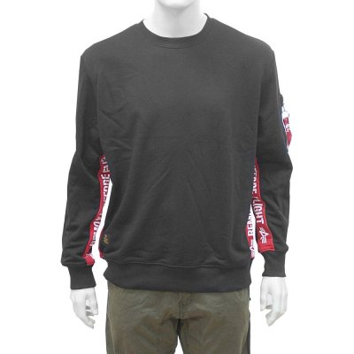 Alpha Industries RBF Inlay Sweater schwarz