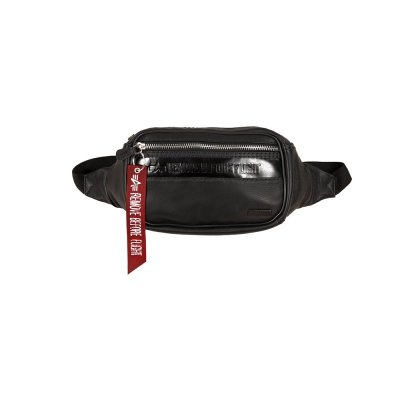 Alpha Industries RBF Leather Waistbag black