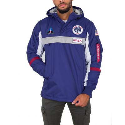 Alpha Industries Space Camp Anorak nautical blue M