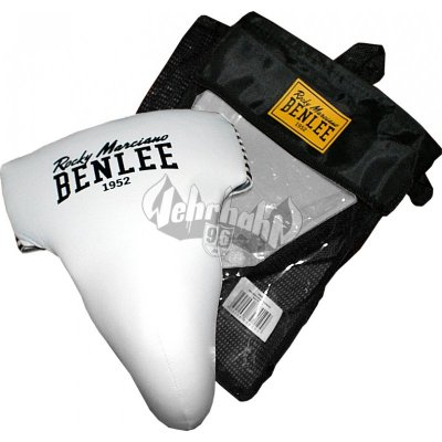 Benlee Rocky Marciano Men PU Groin Guard Protector ADAM white