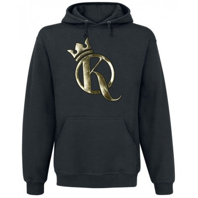 Knossi - Crown Hoodie schwarz gold special edition S
