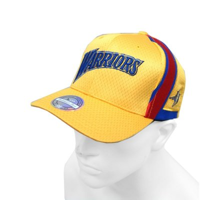 Mitchell & Ness NBA Curved Snapback Series Golden State Warriors