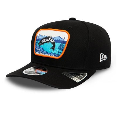New Era 9FIFTY Stretch Snap Cap Outdoors black