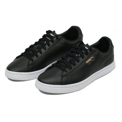 PUMA Herren Sneaker Court Star NM black black gold